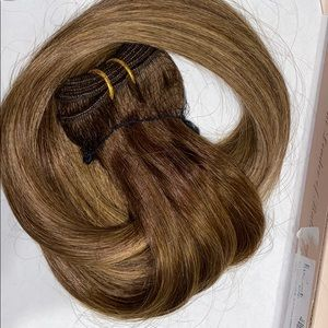 "20"" balayage 100% Weft human hair new in package"